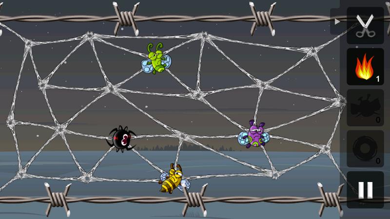 Greedy Spiders Screenshot