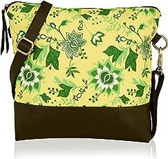 Kleio Beautiful Printed Cross Body Sling Bag for Girls/Women