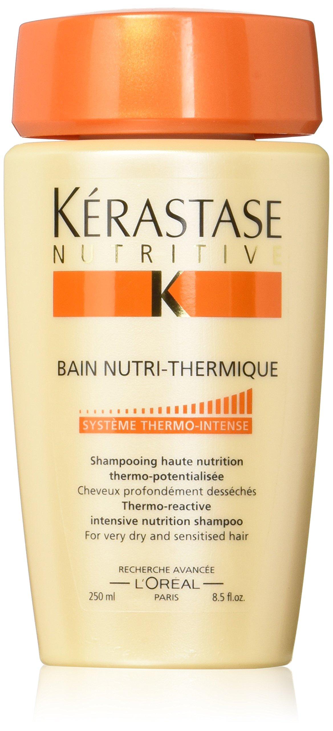 Kérastase Nutritive Bain Nutri-Thermique, Trattamento Intensivo per Capelli Molto Secchi, 250 ml