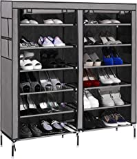 PAffy Steel PPCP Shoe Rack, Grey