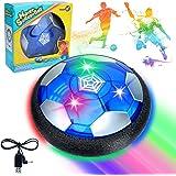 Sinwind Fussball Geschenke Adventskalender Jungen, Hover Ball Spielzeug Ab 5-10 Jahre Junge, Air Hockey Kinderspielzeug mit L