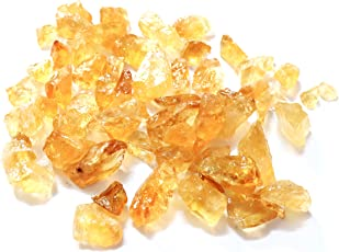 R.R. SHEIKH GEMS 200 GM Natural Citrine Rough Gemstones Healing Crystal Raw Rock