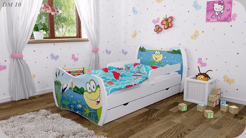 Kinderbett mit matratze bettkasten und lattenrost   verschiedene ...
