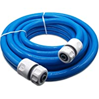 Water Hose – Premium Food Grade Water Hose with Hose Connector Set – 3-ply Hose Pipe for Caravan, Motorhome and Boat – ½…