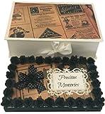 Crack Of Dawn Crafts Paper Photo Album(Black, Brown_4X6 Inch)