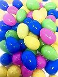 48 Oeufs Remplissables de Pâques, Chaque Oeuf: 6x4cm, Tiendra l'oeuf de Crème