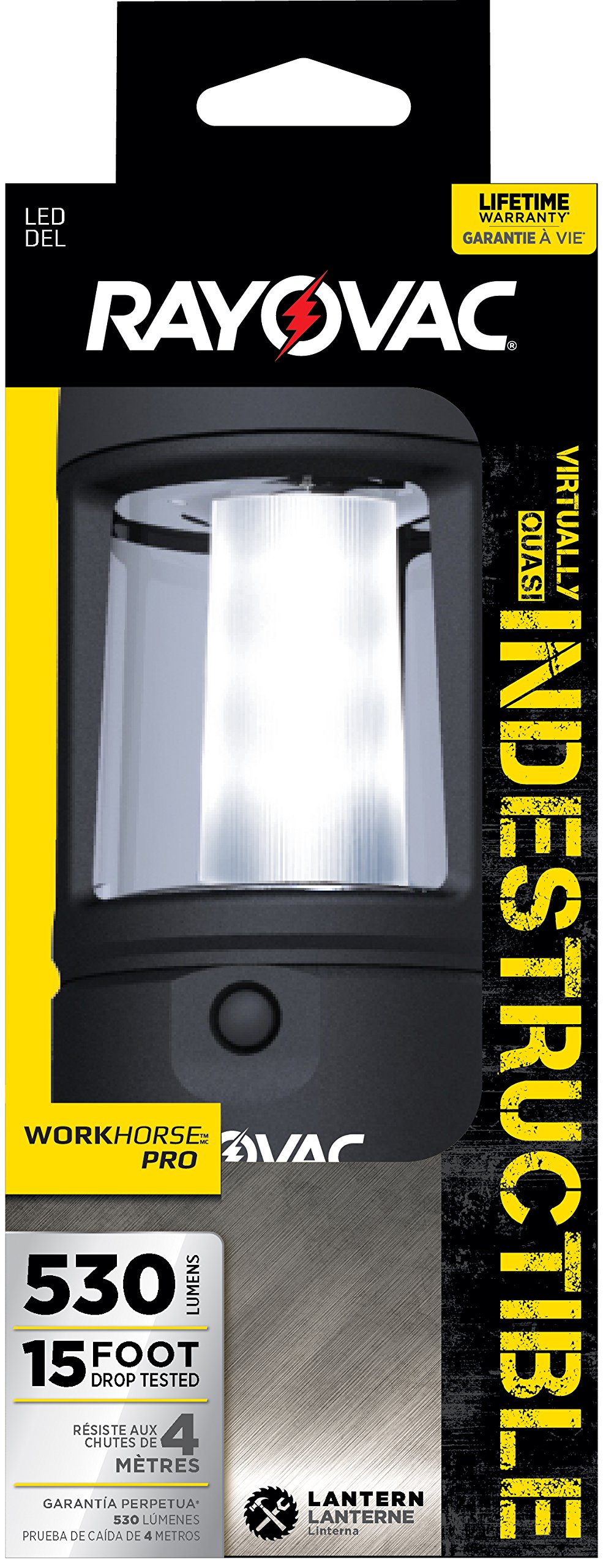 Rayovac diy3dln-B 3d LED INDESTRUCTIBLE Lantern with Battery
