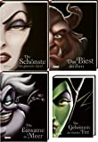 Disney Villains 4 Bände im Set
