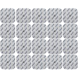 20 elettrodi Pads 5x5 cm per COMPEX elettrostimolatore TENS e EMS - qualità axion