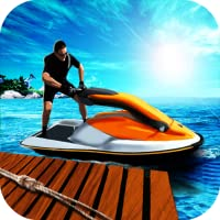 Water Bike Parking 3D - Underground Driving Free
