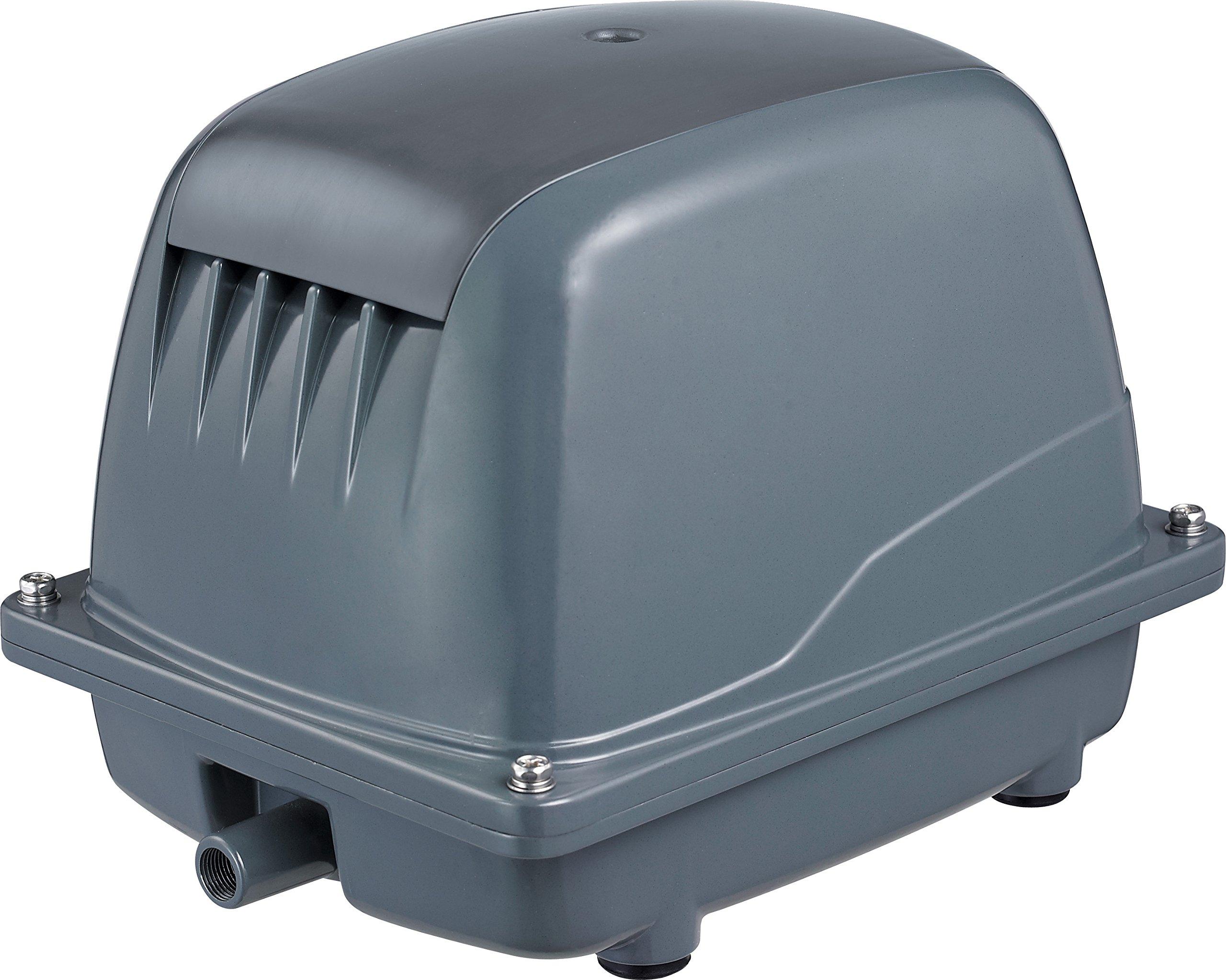 Splashproof outdoor air pump pond oxygenator waterproof for Yard pond pumps