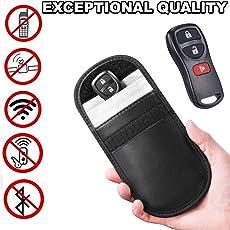 Leoie Car Key Keyless Entry Fob Signal Guard Blocker Protector
