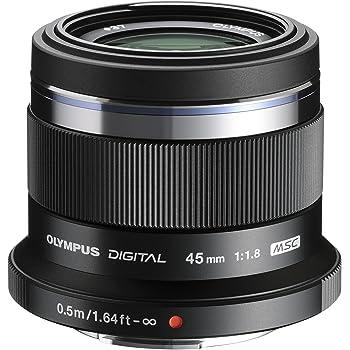 Olympus M.Zuiko Digital 45 mm 1:1.8 Objektiv schwarz