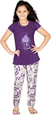Fashion Fever Girls Cotton Printed Night Suit