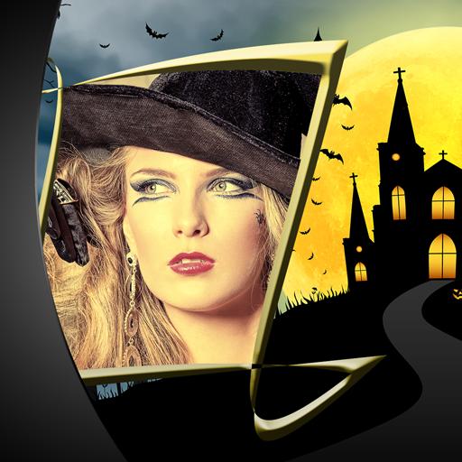 Kostüm Gruseligsten Zombie - Halloween-Foto-Herausgeber