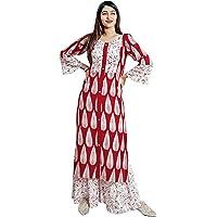dheylu creation Women's Rayon Salwar Suit Set