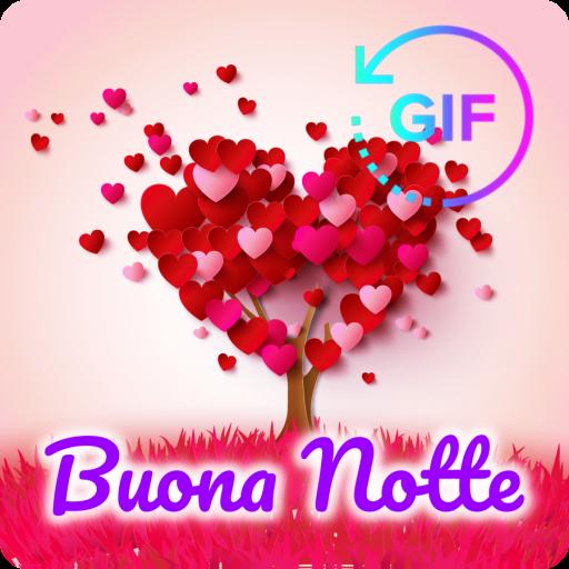 Gif Buona Notte E Dolce Sogno Dell Amore Italiano Amazon It
