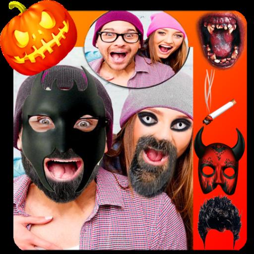 Halloween photo editor pro