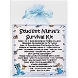 Student Nurse Survival Kit - Fun Novelty Gift & Card Alternative/Birthday/ Keepsake/Thank You/Student Nurse Gift