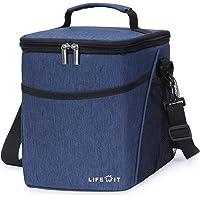 Lifewit 9L Kühltasche Kühlbox Lunchtasche Mittagessen Tasche Thermotasche Isoliertasche Picknicktasche für…