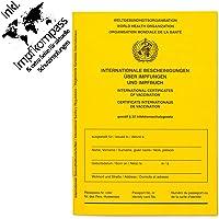 Impfpass Standard, Neue Ausgabe Version 2021 mit Extraseite für aktuelle Schutzimpfungen, inkl. Impfkompass, Impfausweis…