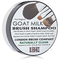 London Brush Company Pure Goat Milk Solid Brush Shampoo Naturally Clean, 28g by London Brush Company