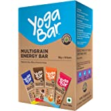 Yogabar Multigrain Energy Bars 380Gm Pack (38G x10) - Healthy Diet with Fruits, Nuts, Oats and Millets, Gluten Free Snack Bar