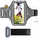 JETech Cellulare Fascia da Braccio Custodia Compatibile iPhone SE(2020)/11/11 PRO/XR/XS/X/8 Plus/7 Plus/8/7/6s/6, Galaxy S10/S9,Cinghia Regolabile e Slot per Carte, per Correre, Escursionismo