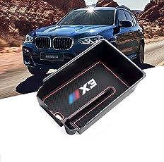 RUIYA Central Console Armlehne Box Angepasst für 2018 BMW X3 G01, Aufbewahrungsbox Console Organizer Insert Tray, Autozubehör