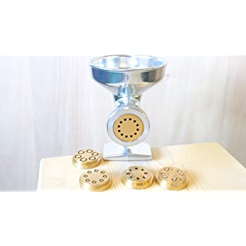 "Manual dough press for traditional ""brass wire-drawing"" pasta Cod. MG/OM/40025T"