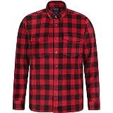 Mountain Warehouse Camiseta Polar para Hombre - Transpirable, Tejido antipelusas, Ligera y cálida, de Secado rápido - para Se