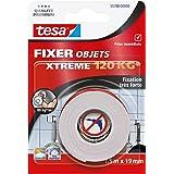 Tesa 55788-0000-00 Xtreme 120 kg plakband, 1,5 m x 19 mm