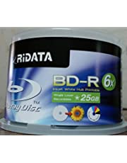 25GB Blank disc 6X BD-R Inkjet Printable 50 pices Pack one Box