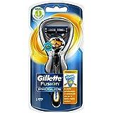 Gillette Fusion Proglide Flexball Rasoio da Uomo, 1 Manico + 1 Lametta, 5 Lame di Precisione, Compatibile con Tutte le Testin