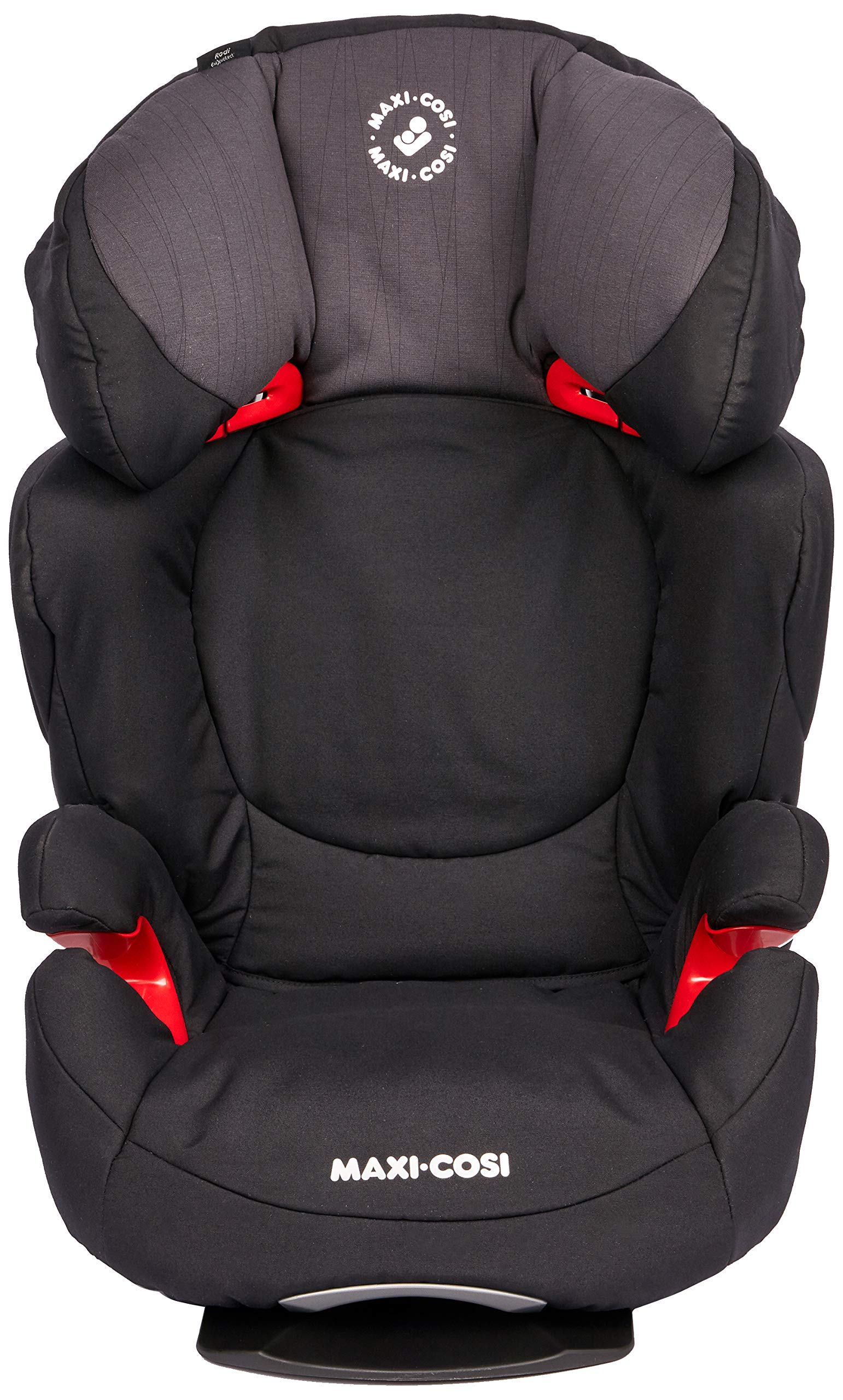 Maxi-Cosi Rodi AirProtect Child Car Seat, Lightweight Highback Booster, 3.5-12 Years, 15-36 kg, Frequency Black Maxi-Cosi Child car seat, suitable from 3.5 to 12 years (15 - 36kg) Easily install this safe car seat with a 3-point seat belt and attach the anchorage point in the head rest through your cars head rest Patented air protect technology in headrest reduces the risk of head and neck injuries up to 20 percent 2