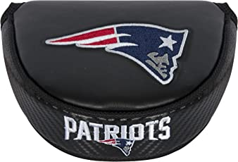 Team Effort NFL New England Patriots Mallet Putter, Black