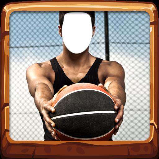 Foto Werfen (Basketball Foto Montage)