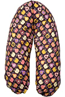 Joyfill Stillkissen Waschbarer Bezug f/ür Flexofill Schwangerschaftskissen 170x34cm 588 Sterne gelb