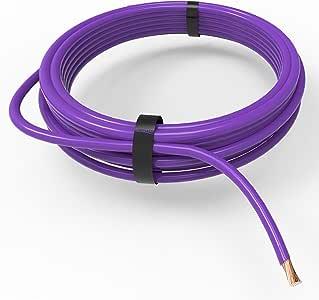 Auprotec/® Cavo unipolare 1.0 mm/² FLRY-B Filo elettrico ad anello giallo 10m