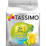 Tassimo Thé Dosettes - 80 boissons Thé Vert Menthe (lot de 5 x 16 boissons)