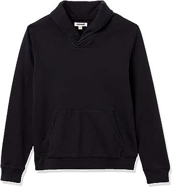 Amazon Brand - Goodthreads Men's Lightweight French Terry Shawl Collar Pullover Sweatshirt