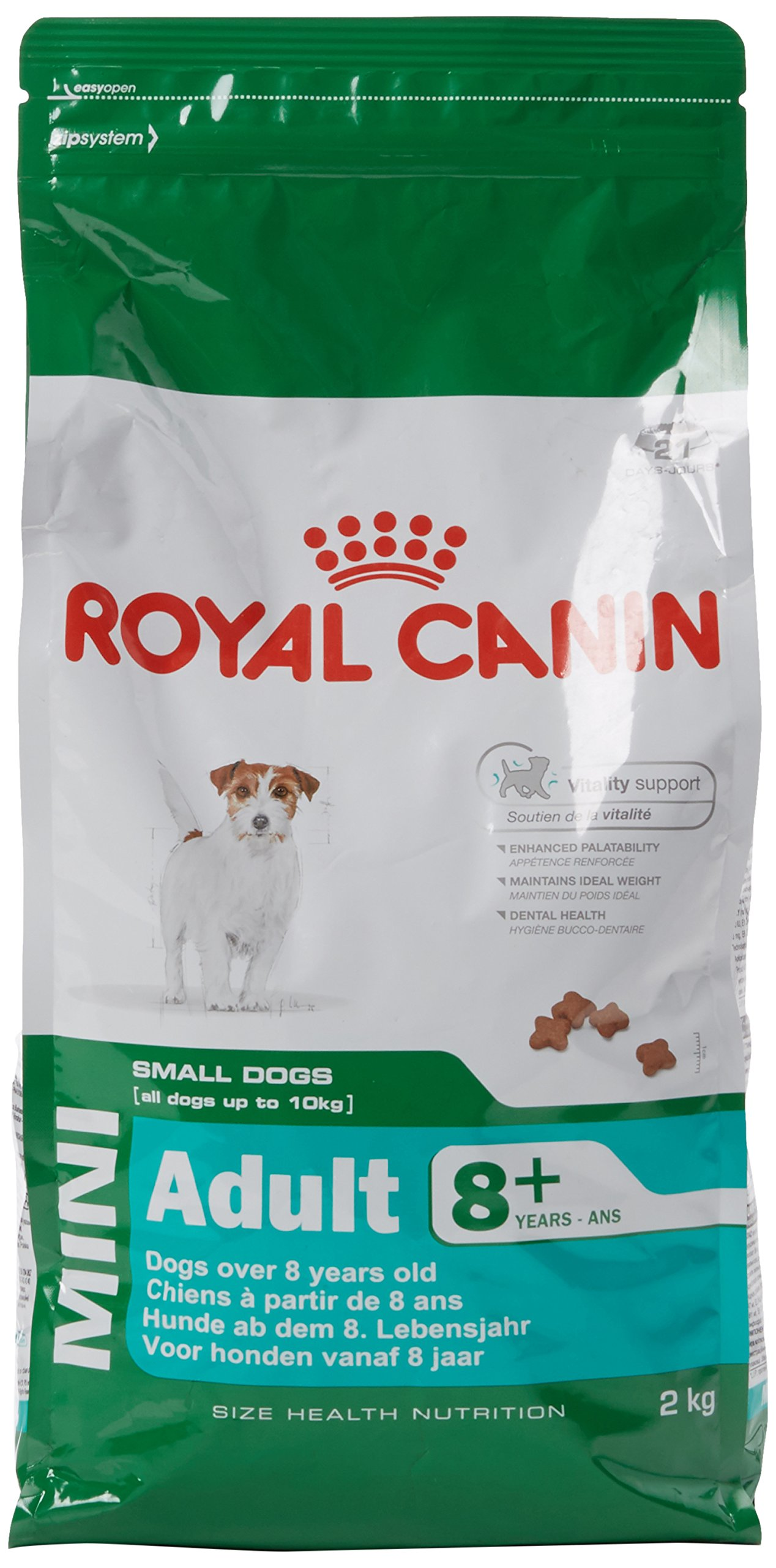 royal canin dog food mini adult 2kg supplies pet dry dog. Black Bedroom Furniture Sets. Home Design Ideas