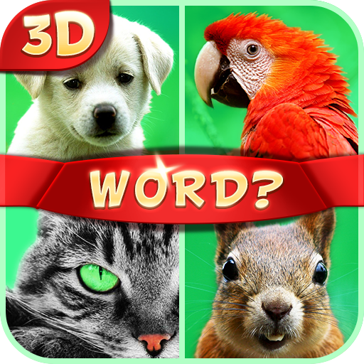 Guess the Word 3D - 4 Pics 1 Word (Kindle Tablet Edition) (Pics 1 Word 4)