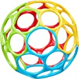 Bright Starts, Oball Classic - flexibles und leicht greifbares Design, für Kinder jeden Alters, Mehrfarbig