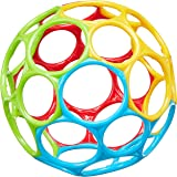 Bright Starts Oball Classic Easy-Grasp Toy - Red/Blue/Green/Yellow