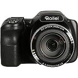 Rollei Powerflex 350 WiFi - Kamera mit 35-fachem Superzoom und einem 3,0 Zoll TFT Farbdisplay, 16 Megapixel, 26 Motivprogramme und 17 Art Effekte - Schwarz