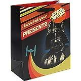 UK Greetings Star Wars Birthday Gift Bag - Large Gift Bag - Gift Bag for Him, Multi