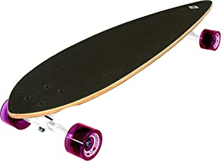 "Streetsurfing Street Surfing Longboard Pintail 40"", Design: Cloudy, Mehrfarbig, Zoll"