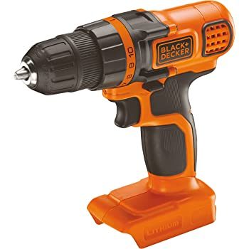 Black + Decker BDCDD18N-XJ Perceuse visseuse 18 V (chargeur et batterie non inclus)