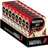 NESCAFÉ 3-in-1 Sticks, löslicher Bohnenkaffee, mit Creamer & Zucker, Instant-Kaffee aus erlesenen Kaffeebohnen, koffeinhaltig, 8er Pack (à 10 x 17,5 g Sticks)